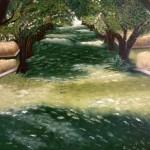 Allée d'Arbres en Toscane - 116 x 89 cm