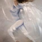 L'Ange bleu - 65 x 81cm