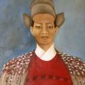 L'empereur Mongol - 91 x 80cm
