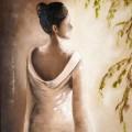 Mémoire d'une geisha - 92 X 73 cm