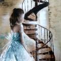 La princesse à l'escalier -