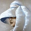 Variation Blanche - 50 x50 cm